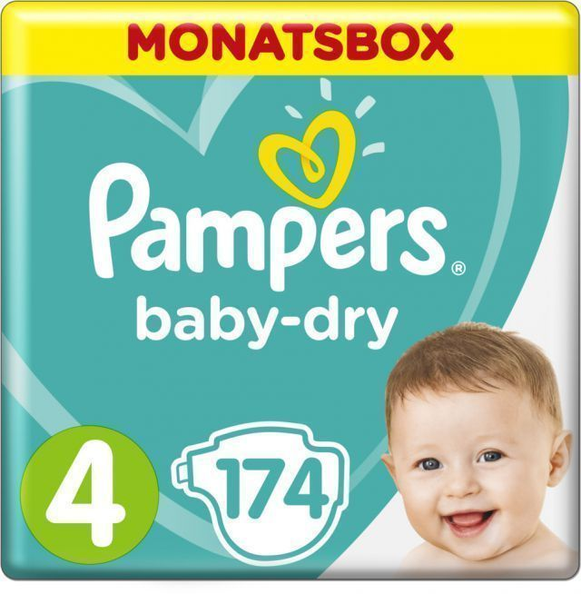 foto Pañal Pampers Baby dry Talla 4