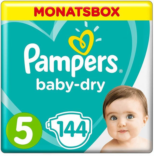 foto Pañal Pampers Baby dry Talla 5