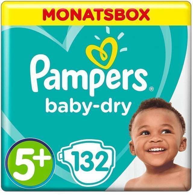 foto Pañal Pampers Baby dry Talla 5+