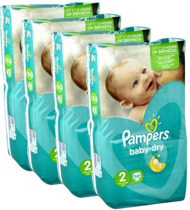 foto producto Pañal Pampers Baby dry Talla 2