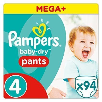 foto Pañal Pampers Baby dry Pants Talla 4
