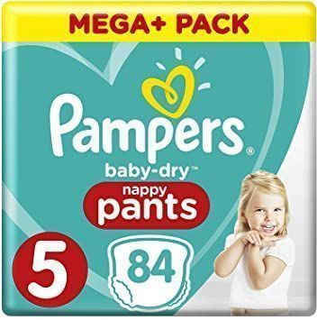 foto producto Pañal Pampers Baby dry Pants Talla 5