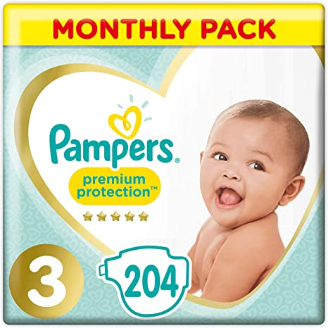 foto Pañal Pampers Premium Protection Talla 3