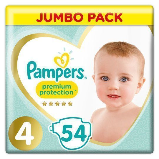 foto Pañal Pampers Premium Protection Talla 4