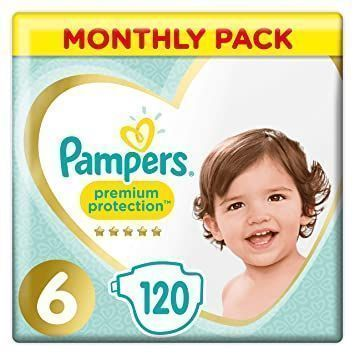 foto Pañal Pampers Premium Protection Talla 6