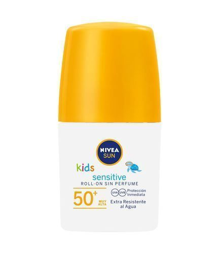 foto Nivea Sun Sensitive Niños Protege & juega Roll-on Solar FP50+