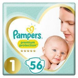 foto Pañal Pampers Premium Protection Talla 1